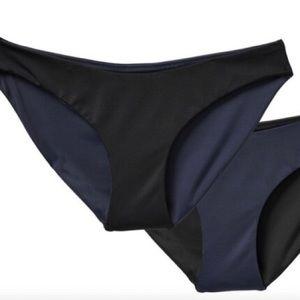 Athleta High Leg Reversible Swim Bottom